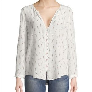 Joie champagne blouse